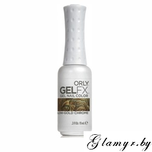 ORLY Гель-лак - GELFX Gel Nail Lacquer 9мл Yellow Gold Chrome