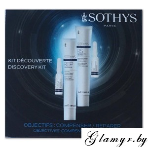 SOTHYS. Набор. Blue Cosmeceutique Discovery kit