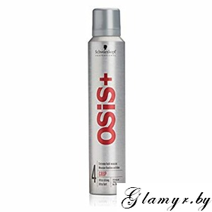 "OSIS+. Мусс для волос ""GRIP"" (4 Ultra strong Extreme hold mousse). 200 мл"
