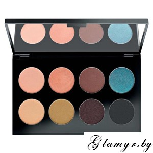MAKE UP FACTORY. Тени для век International Eyes Palette, №36 Colorful Savanna. 8*1,5гр