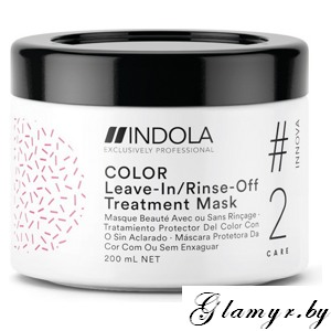 "INDOLA. Маска для окрашенных волос ""COLOR #2 care INNOVA"" (Leave-In/Rinse-Off Treatment). 200 мл"