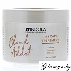 "INDOLA. Маска для волос ""BLOND ADDICT #2 CARE TREATMENT"".  200 мл"