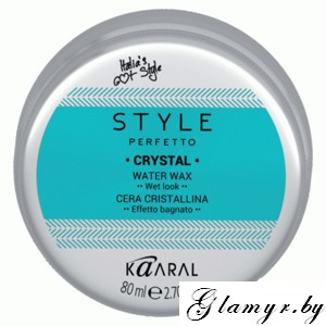 KAARAL*. STYLE PERFETTO. CRYSTAL WATER WAX Воск на водной основе для укладки волос. 80 мл