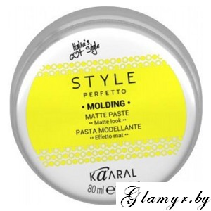 KAARAL*. STYLE PERFETTO. MOLDING MATTE PASTE Матирующая паста для волос. 80 мл