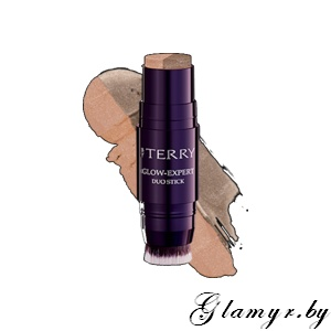 BY TERRY. Иллюминазер гибридный (пудра-стик) GLOW-EXPERT DUO STICK. 6 - Copper Coffee. 7,3 г.