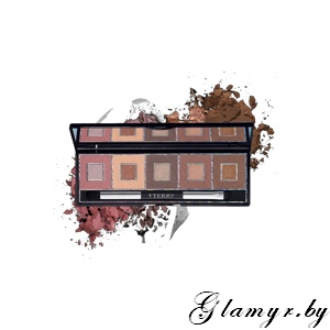 BY TERRY. Палетка двойных теней для век GAME LIGHTER PALETTE. 2 - Pixie Nude.1.05 г x5/ 0.25г x5.