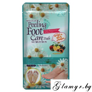SENCE OF CARE. Маска для пилинга кожи стоп PEELING FOOT CARE PACK. 1 шт