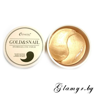 ESTHETIC HOUSE Гидрогелевые патчи д/ глаз ЗОЛОТО/УЛИТКА  GOLD&SNAIL HYDROGEL EYEPATCH. 60 мл