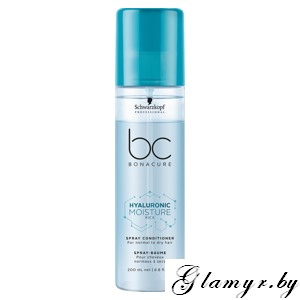 "BONACURE. Спрей-кондиционер для волос ""Hyaluronic Moisture Kick"" (Spray Conditioner For normal to dry hair). 200 мл"