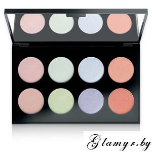 MAKE UP FACTORY. Тени для век International Eyes Palette, №10 Asian Harmony. 8*1,5гр