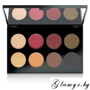 MAKE UP FACTORY. Тени для век International Eyes Palette, №23 Mysterious Orient. 8*1,5гр