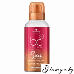 "BONACURE. Спрей для волос ""Защита от солнца"" (Sun Protect Prep & Protection Spritz For sun-stressed hair). 100 мл"