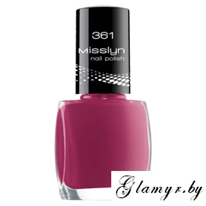 Misslyn.Лак для ногтей Nail Polish, тон 361 Speed Dating. 10 мл