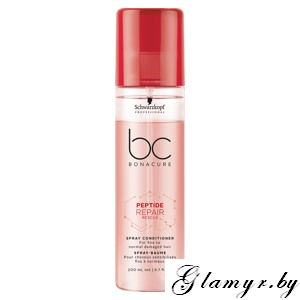 "BONACURE. Спрей-Кондиционер""Peptide Repair Rescue"" (Spray Conditioner For fine to normal damaged hair). 200 мл"