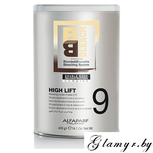 ALFAPARF. Alfaparf Milano BB Bleach High Lift Порошок осветляющий 9, 400 г