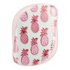 Расческа Tangle Teezer Compact Styler Skinny Dip Pineapple - розовый/белый